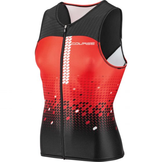 Tri Course Sleeveless Triathlon Top