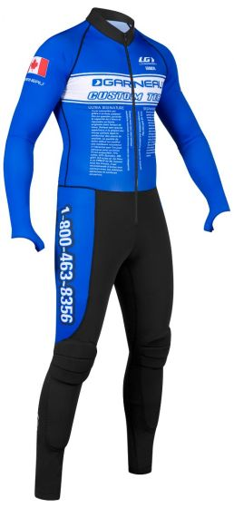 Short Track Padding Suit