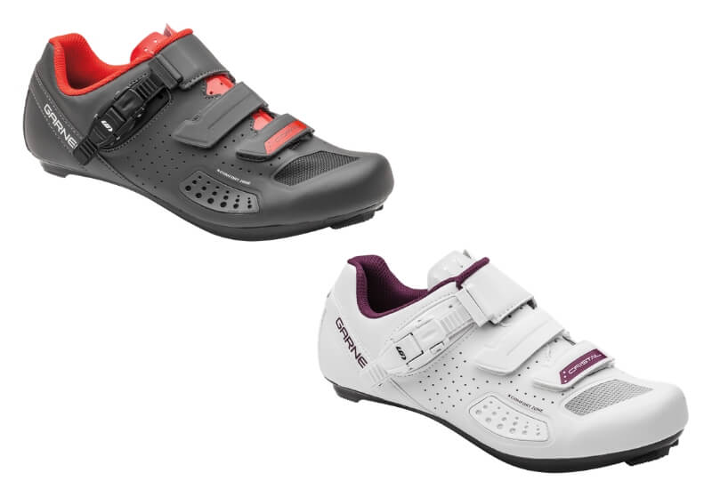 Copal II and Cristal II cycling shoes