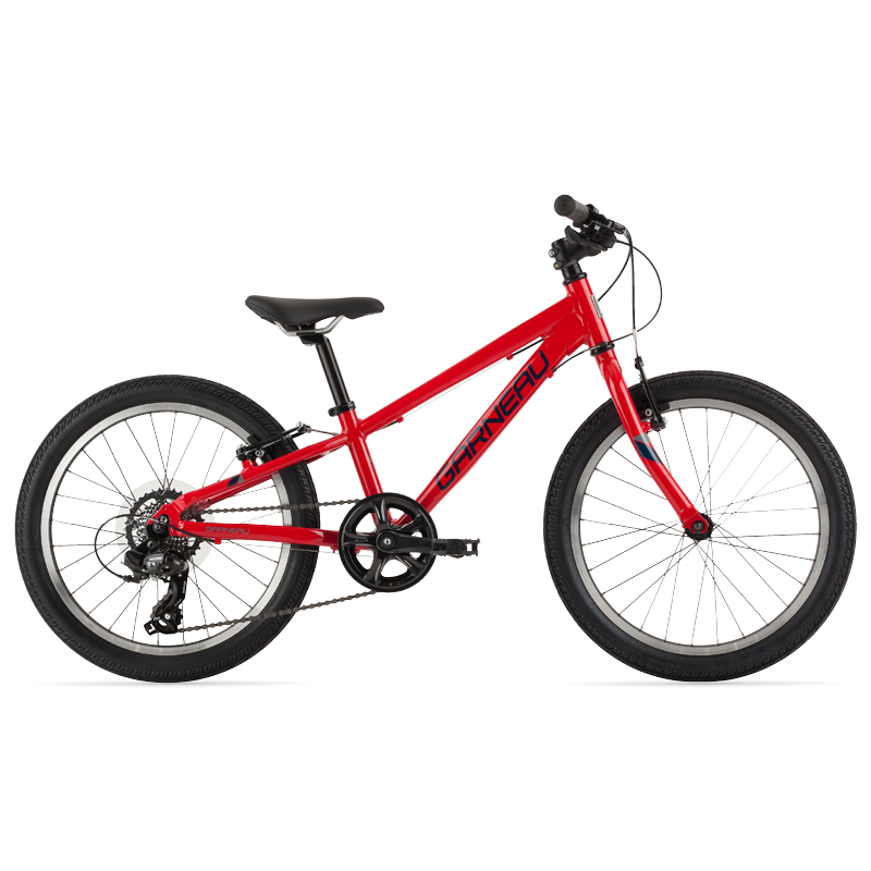 The Atom 20 is a modern kids' bike with a lightweight aluminum frame that offers extreme versatility. Its Promax TX-117L brakes matched with 20'' wheels and slick tires make this great bike for riding on pavement and paths with confidence.