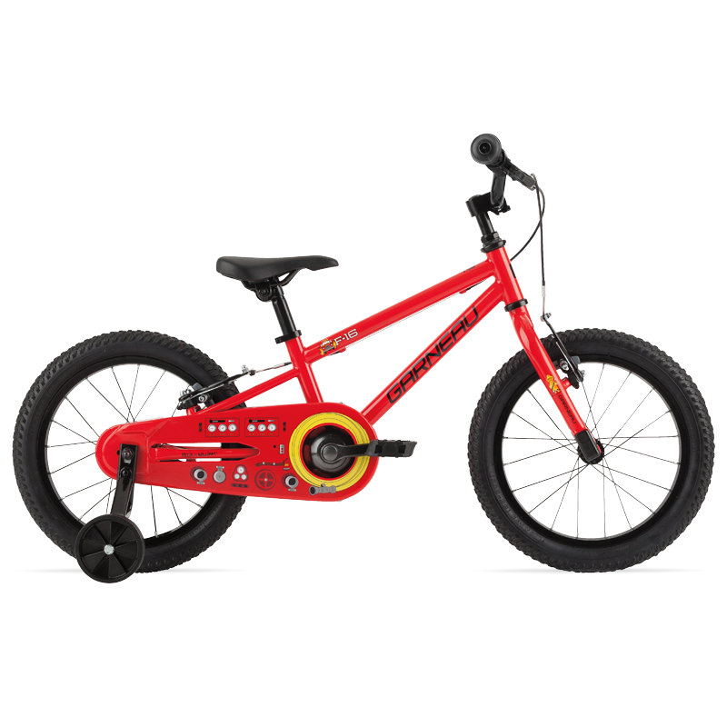 F-12 kids bike comes with 12 wheels, training wheels for added confidence, a single speed which makes it very low maintenance and extremely durable, and a coaster brake that lets the child stop with confidence by pushing back on the pedals. Get her the F-12 today and let her dream away.