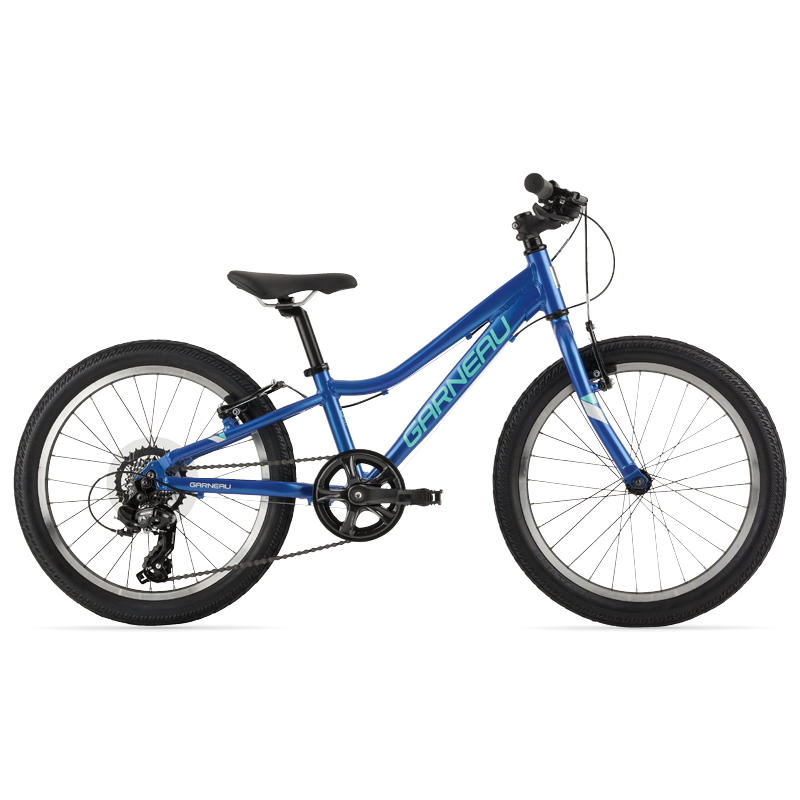 The Stella 20 is a modern kids' bike with a lightweight aluminum frame that offers extreme versatility. Its Promax TX-117L brakes matched with 20'' wheels and slick tires make this great bike for riding on pavement and paths with confidence.