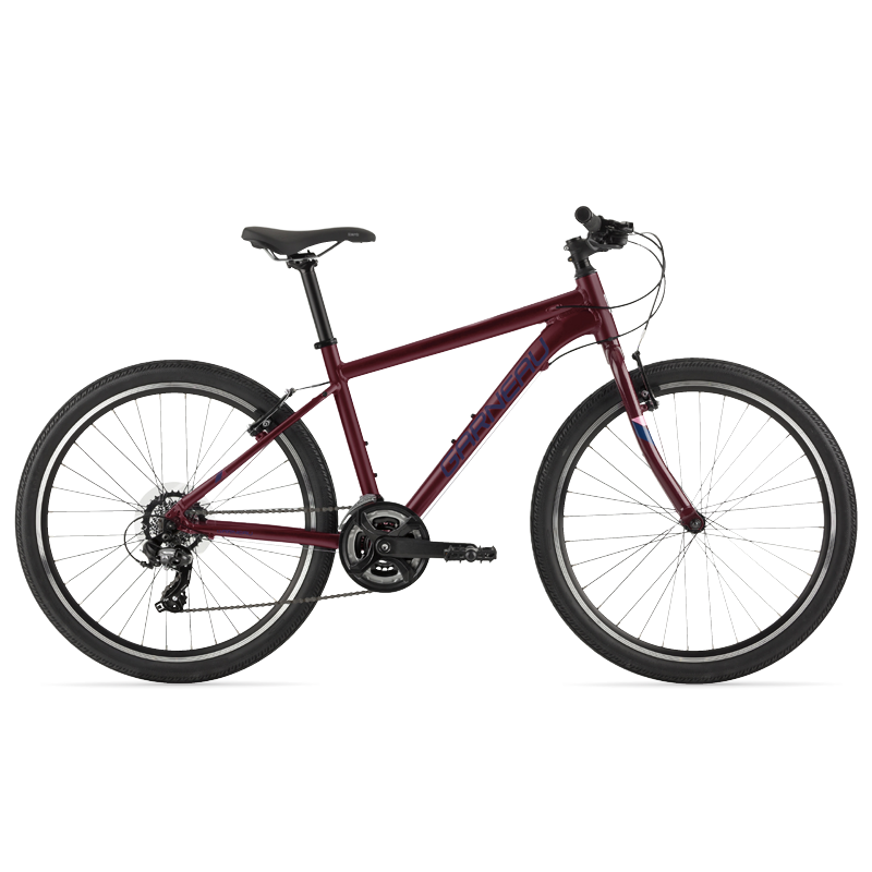 The Stella 26 is a modern kids' bike with a lightweight aluminum frame that offers extreme versatility. Its Shimano Tourney TY300 group set helps climbing big hills a breeze, and its durable brakes matched with 26'' wheels and slick tires make this great bike for riding on pavement and paths with confidence.