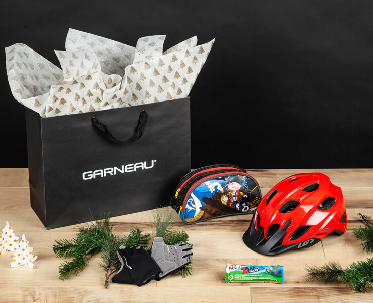 Kids Holiday Gift Bag Cycling Kit