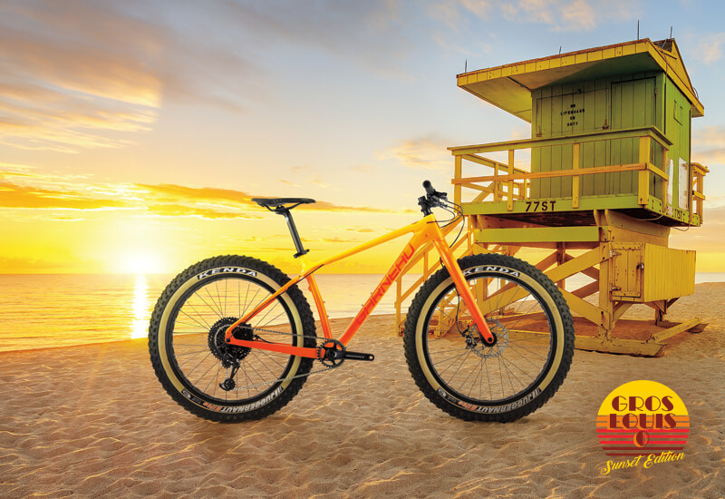 Fat Bike design for the beach