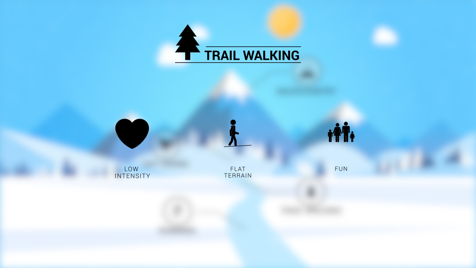 Trail-Walking Snowshoes Features