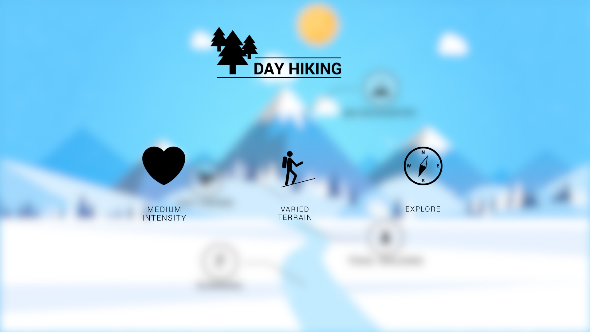 Day Hiking Snowshoes Features