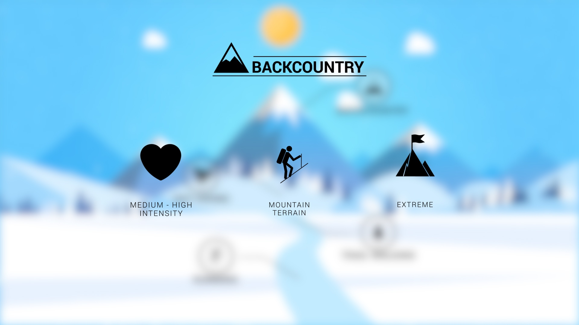 Backpacking/Mountaineering Snowshoes Features