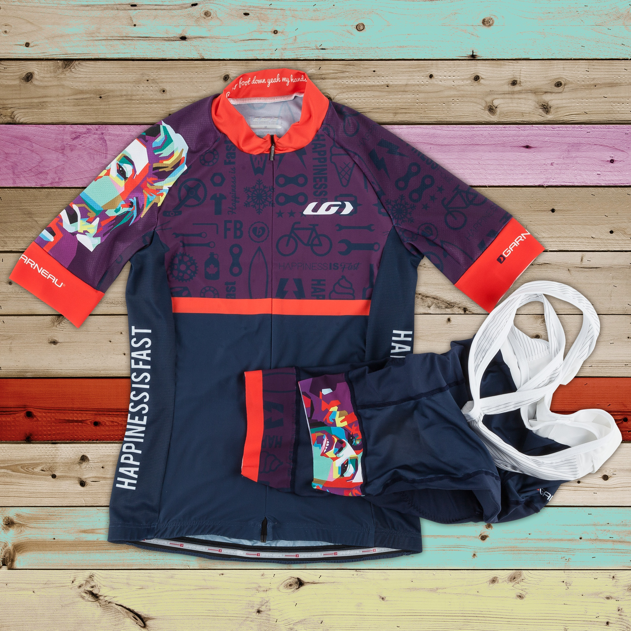 Lea Davison Custom Cycling Kit
